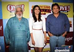 Rahul Rawail, Anushka Ranjan and Shashi Ranjan at audition of Love Story Again