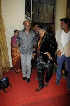 Rajinikanth at Stunt Master Kittu daughter Marriage Reception
