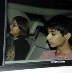 Rajkumar Hirani family at special screening of Highway