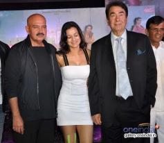 Rakesh Roshan, Ameesha Patel and Randhir Kapoor at first look launch of film Desi Magic