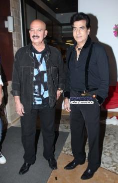 Rakesh Roshan and Jitendra at Gang Of Ghosts music launch