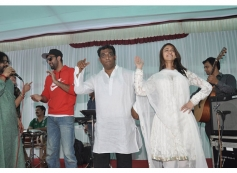 Ranbir and Ileana at Anurag Basu's Saraswati Pooja celebrations