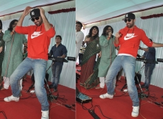 Ranbir Kapoor performs at Anurag Basu's Saraswati Pooja celebrations