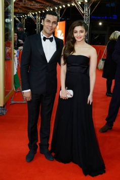 Randeep Hooda and Alia Bhatt at Highway Premiere during Berlin Film Festival