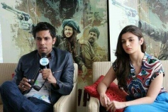 Randeep Hooda and Alia Bhatt promotes Highway