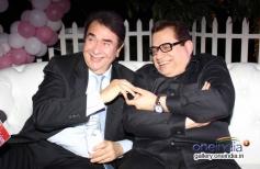 Randhir Kapoor and Kumar S Taurani at first look launch of film Desi Magic