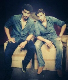 Ranveer Singh and Arjun Kapoor promote Gunday