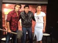 Ranveer Singh and Priyanka Chopra promote Gunday