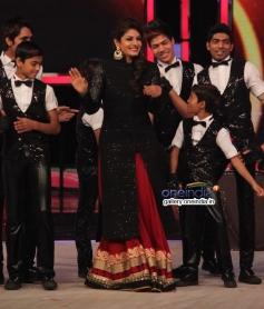 Raveena Tandon on the sets of India's Got Talent