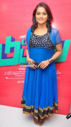 Remya Nambeeshan at Damaal Dumeel audio launch