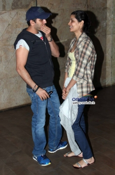 Ritesh Sidhwani and Reema Kagti at Shaadi Ke Side Effects screening