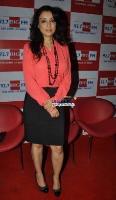 Rj Madhurima at the Valentine Days special show at 92.7 Big FM