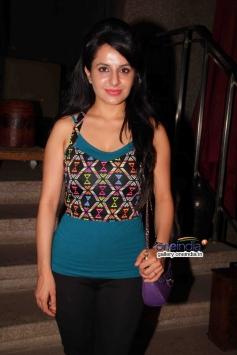 Roop Durgapal at success party of TV serial Balika Vadhu