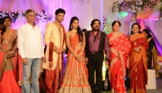 SAC, Shoba at T Rajendar Daughter Ilakiya Wedding Reception
