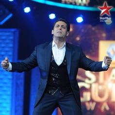 Salman Khan as Host at Star Guild Awards 2014