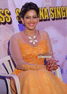 Sanjana Singh Press Meet