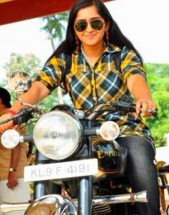 Sanusha still on bike