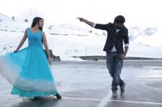Sasi Kumar and Lavanya Tripathi still from film Bramman