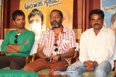 Sathish Ninasam at Anjada Gandu Success Meet
