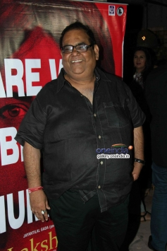 Satish Kaushik at Nagesh Kukunoor's film Lakshmi success bash