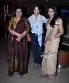 Seema Pahwa, Maya Sarao and Taranjit Kaur at Ankhon Dekhi film trailer launch