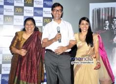 Seema Pahwa, Rajat Kapoor and Taranjit Kaur at Ankhon Dekhi film trailer launch