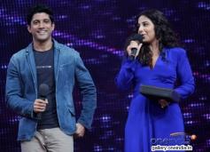 Shaadi Ke Side Effects film stars Farhan and Vidya on the sets of Nach Baliye 6