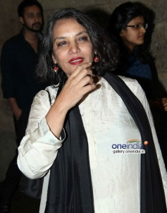 Shabana Azmi at Shaadi Ke Side Effects special screening
