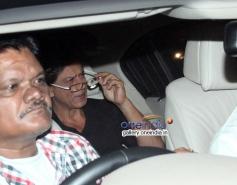 Shahrukh Khan at Abhishek Bachchan 38th birthday bash