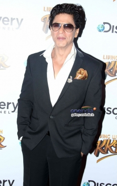 Shahrukh Khan launches Discovery Channel's new show Living with KKR