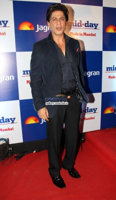 Shahrukh Khan at Mid Day newspaper's relaunch party