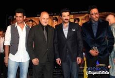 Sharman Joshi, Anupam Kher, Anil Kapoor and Jackie Shroff at Gang Of Ghosts music launch