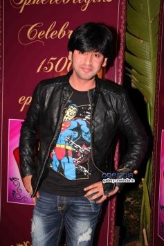 Shashank Vyas at success party of TV serial Balika Vadhu