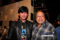 Shashank Vyas and Sudhir Pandey at success party of TV serial Balika Vadhu
