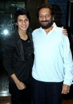Shekhar Kapur at Avitesh Shrivastava's 18th birthday bash