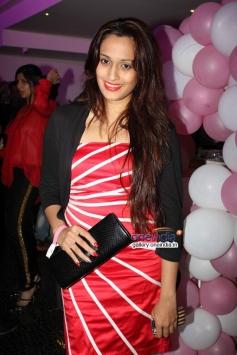 Shweta Pandit at first look launch of film Desi Magic