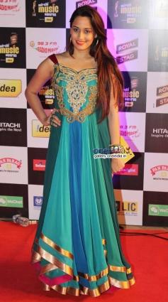 Shweta Pandit at Mirchi Music Awards 2014