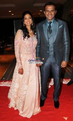 Siddharth Kannan and Neha Agarwal wedding reception