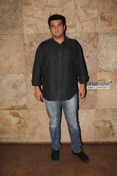 Siddharth Roy Kapur at Hasee Toh Phasee film special screening