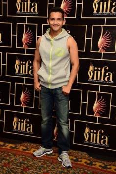 Singer Aditya Narayan at IIFA 2014 Voting Weekend