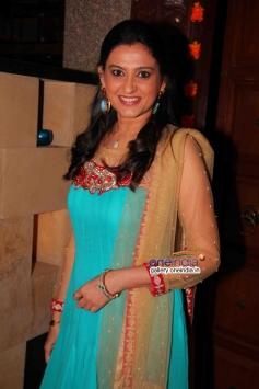 Smita Bansal at success party of TV serial Balika Vadhu