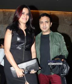 Sona Mohapatra with Ram Sampath at Shaadi Ke Side Effects special screening