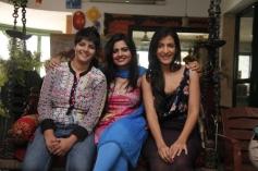 Sonal Giani, Lezlie Tripathi and Leeza Mangaldas at W film promotion