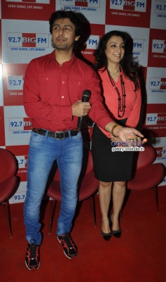 Sonu Nigam interviewed by wife for Valentines Day
