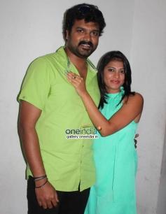 Srujan Lokesh, Pavana at Typical Kailas Movie Press Meet