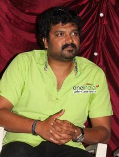 Srujan Lokesh at Typical Kailas Movie Press Meet