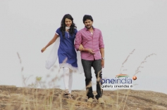 Sruthi Hariharan and Srinagar Kitty in Kannada Movie Savari 2