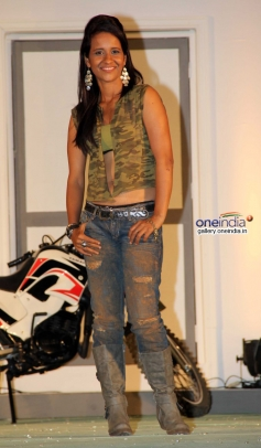Stunt Woman Geeta Tandon at Fear Factor Khatron Ke Khiladi 5 press conference