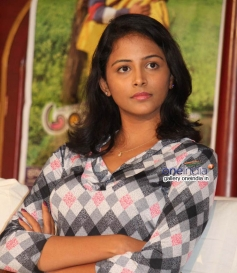 Subhiksha at Anjada Gandu Success Meet