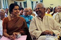 Suhasini and Mani Ratnam at Vj Ramya and Ajith Jayaraman Wedding